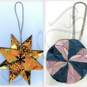 Origami hviezda a kruh