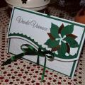 Darčeková obálka zelená