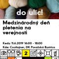 Pletenie na verejnosti - Považská Bystrica a okolie