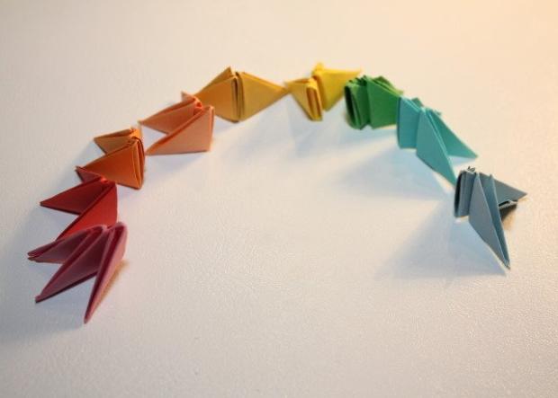Fotopostup na 3D origami vajíčko 5