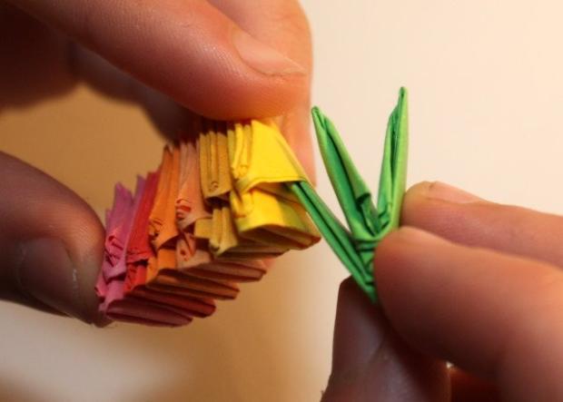 Fotopostup na 3D origami vajíčko 7