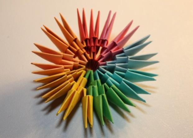 Fotopostup na 3D origami vajíčko 11