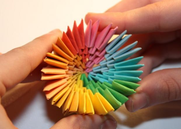 Fotopostup na 3D origami vajíčko 13