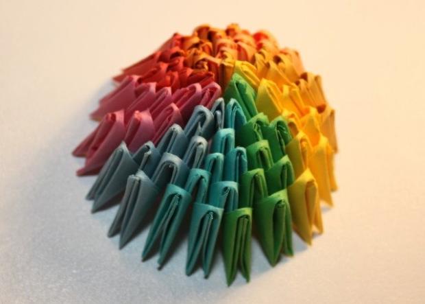 Fotopostup na 3D origami vajíčko 14