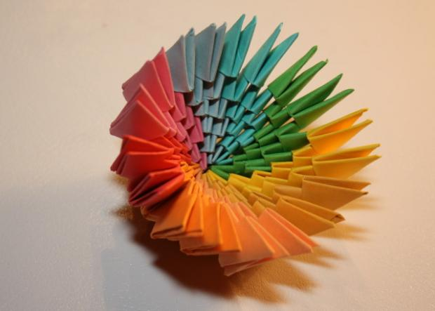 Fotopostup na 3D origami vajíčko 15