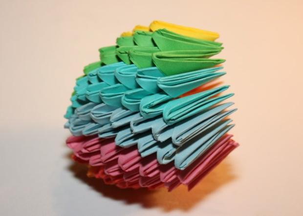 Fotopostup na 3D origami vajíčko 16