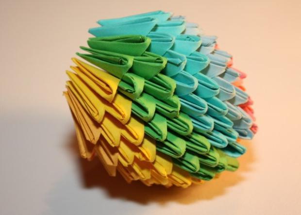 Fotopostup na 3D origami vajíčko 17