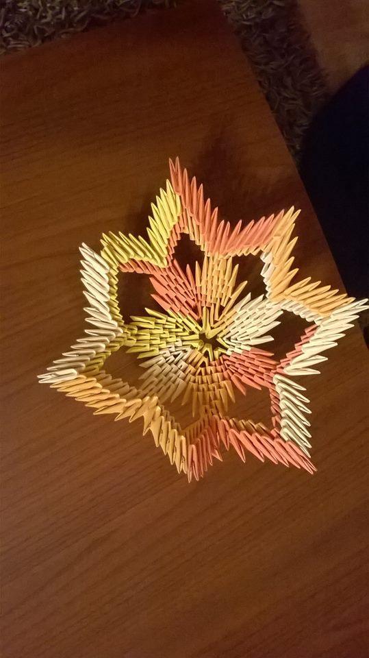 3d origami vázička :), Origami a Kusudama