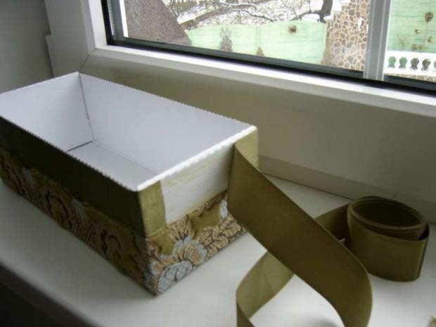 40faf9e5a krabica od topánok ll, Všetko ostatné, fotopostup - Artmama.sk