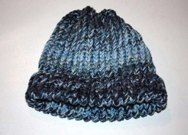 Postup na pletenú čiapku inak 24