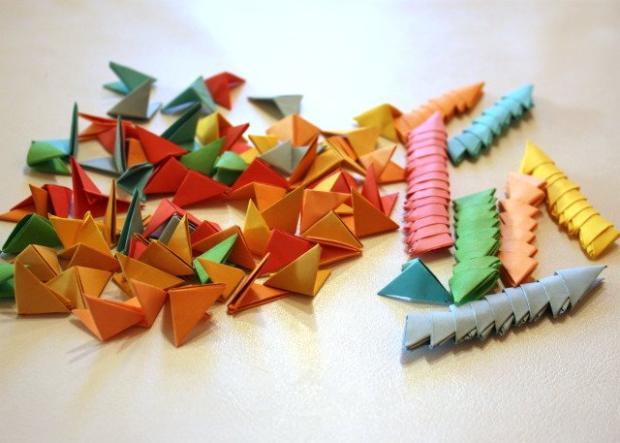 Fotopostup na 3D origami vajíčko 2