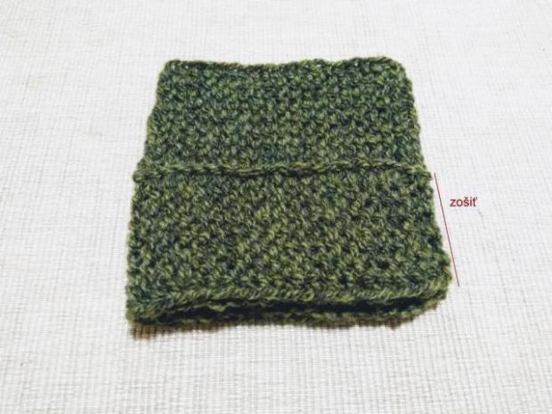 Najjednoduchšie pletené papučky pre bábätko 3