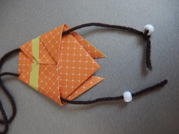 Pohyblivý papierový šváb - návod na hračku 10