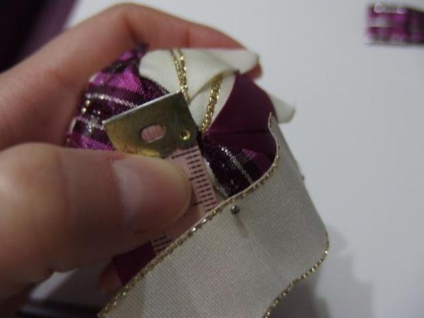 falošný patchwork vianočné gule-špirála 2