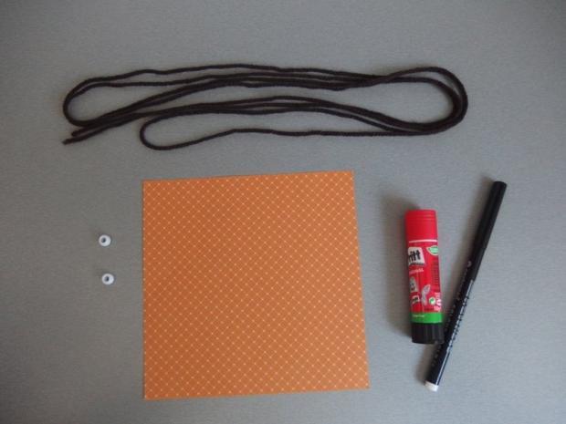 Pohyblivý papierový šváb - návod na hračku 1