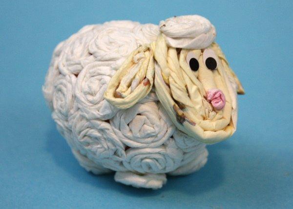 Veľkonočné vajíčko ako ovečka  1