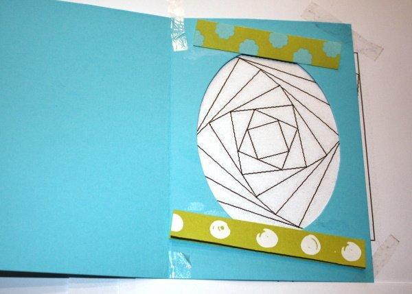 Postup na Iris folding - vajíčko 9