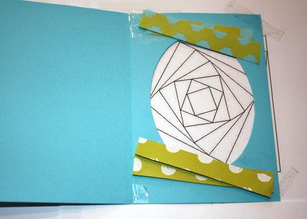 Postup na Iris folding - vajíčko 10