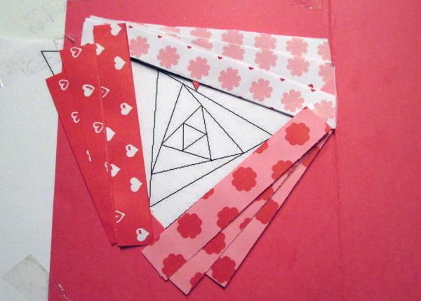 Fotopostup na Iris folding - srdce 7