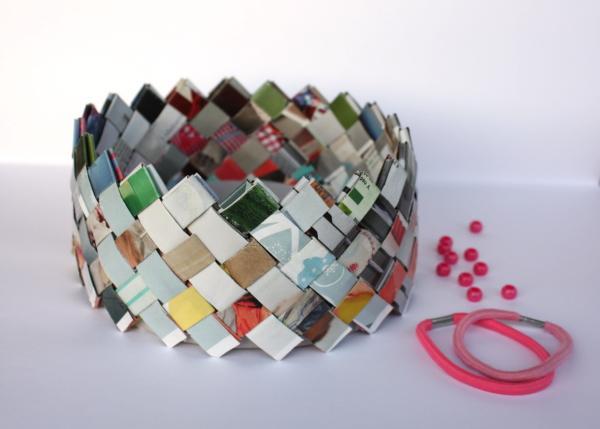 Autor: Kamila, Fotopostup na krabicku v štýle papierových kabeliek