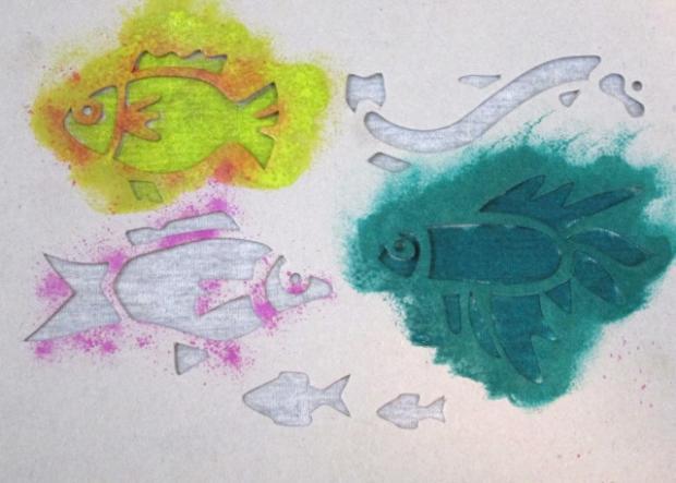 Maľujeme na textil s deťmi 12