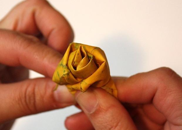 Fotopostup na ruže z javorového lístia 9