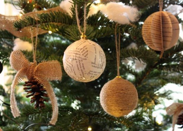 Postup na jednoduché vianočné ozdoby