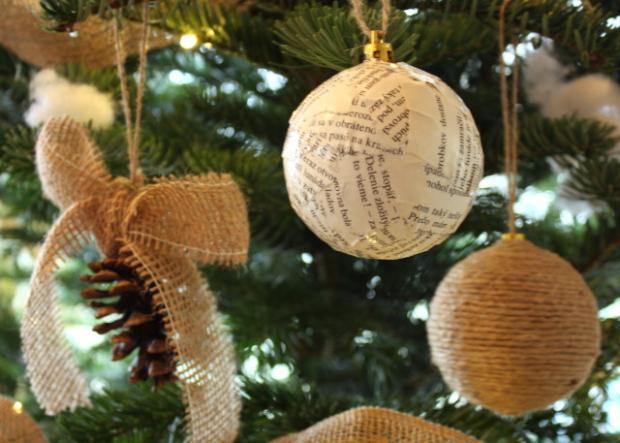 Fotopostupy na jednoduché vianočné ozdoby 12