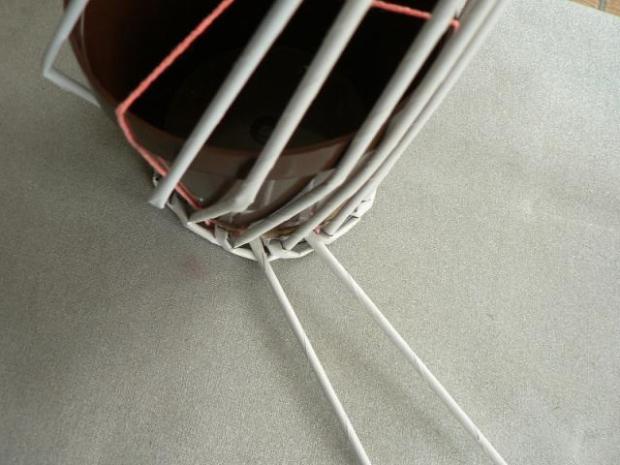 Fotopostup na papierové pletenie pre začiatočníkov - oplet 2 a oplet 3 1