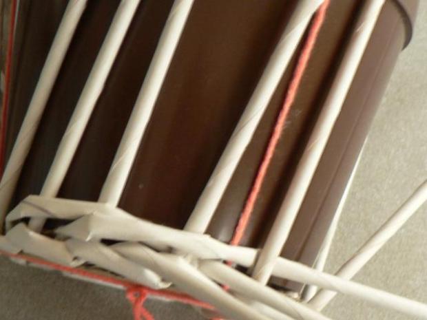 Fotopostup na papierové pletenie pre začiatočníkov - oplet 2 a oplet 3 7