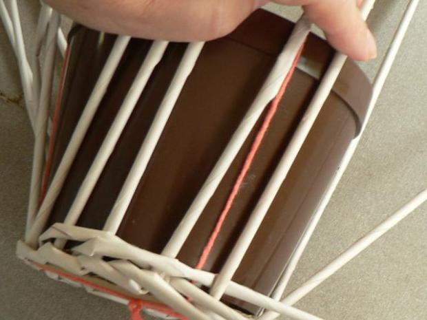 Fotopostup na papierové pletenie pre začiatočníkov - oplet 2 a oplet 3 8
