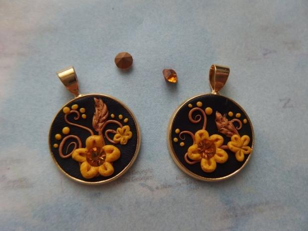 Jednoduchý náhrdelník a ušničky  4