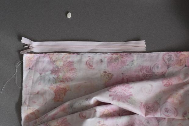 Dlhá sukňa so záhybmi bez strihu 5