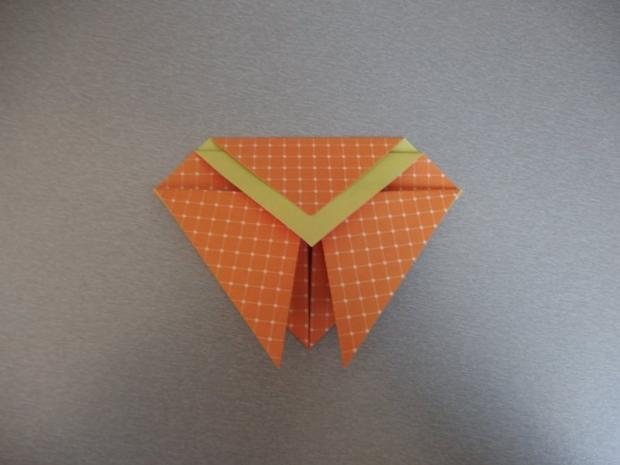 Pohyblivý papierový šváb - návod na hračku 6