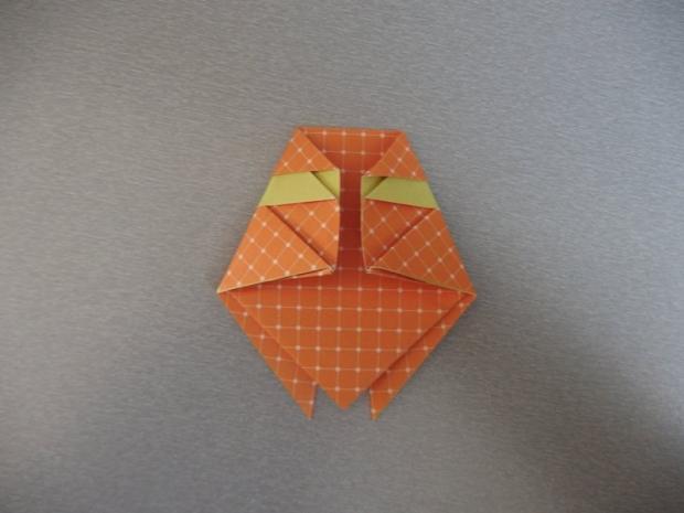 Pohyblivý papierový šváb - návod na hračku 7