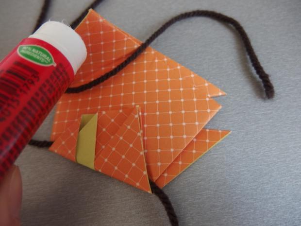 Pohyblivý papierový šváb - návod na hračku 9