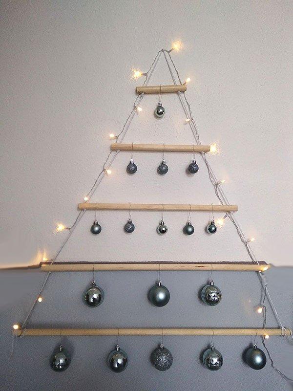 Alternatívny vianočný stromček 1