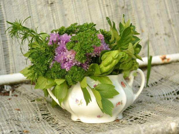 Jedlá bylinková kytica | Návod | Dasa_