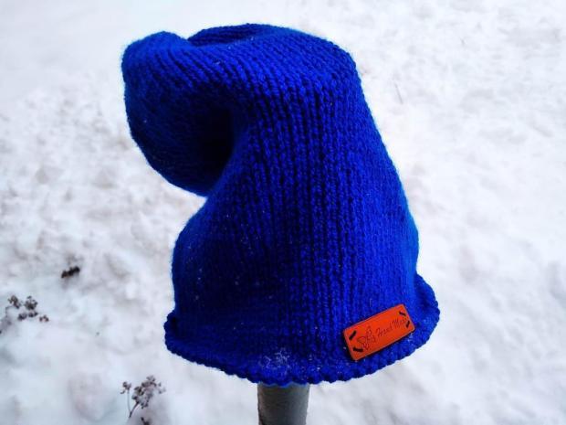 Homeless čiapka obhačkovaná račím stĺpikom 5