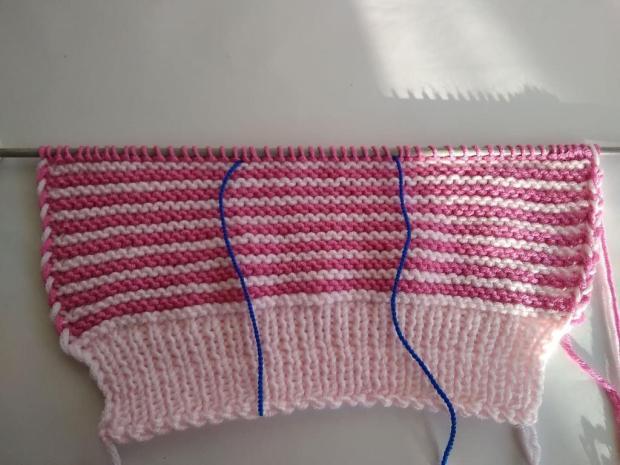Pletená čiapočka pre bábätko 4
