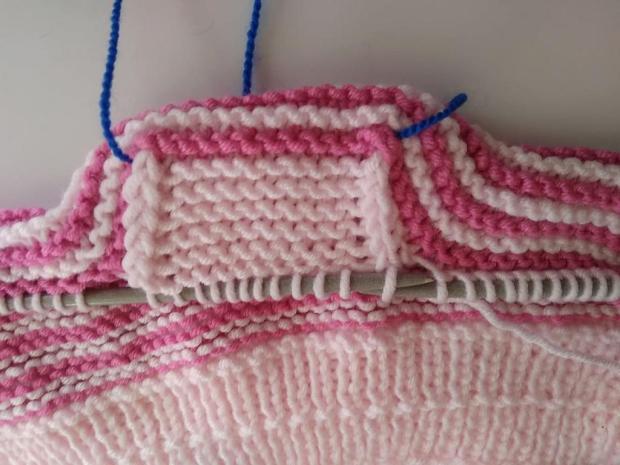 Pletená čiapočka pre bábätko 8