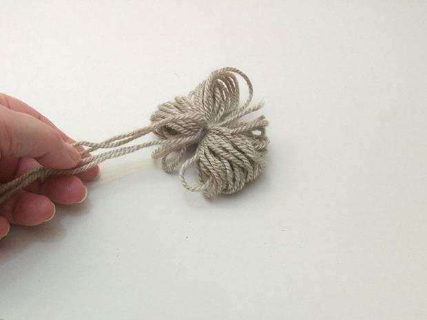 Detská pletená čiapka so sovou - návod 6