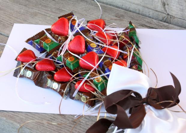 Fotopostup na čokoládovú kyticu 7