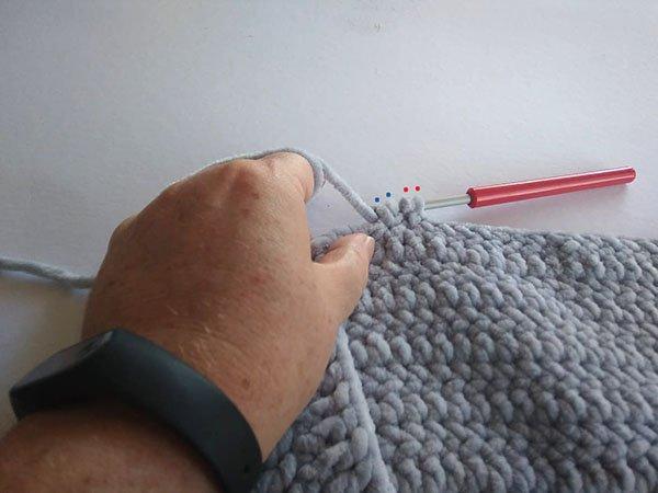 Postup na háčkovanú bublinkovú (nopkovú) deku 5