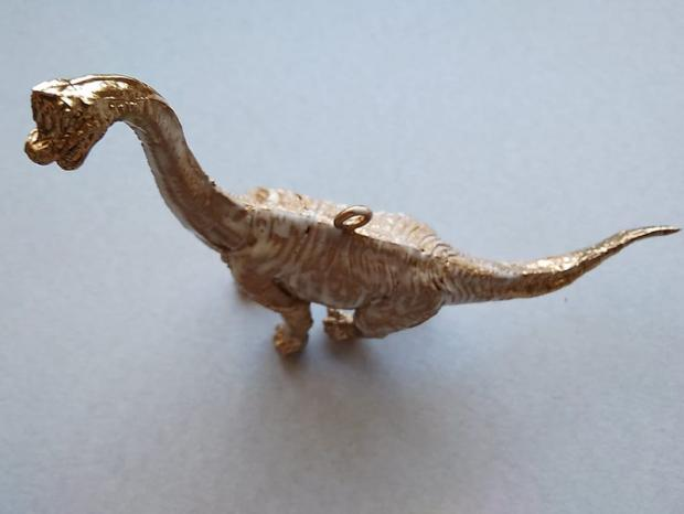 Dinosaurus ako ozdoba na stromček 5