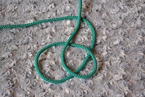 Náhrdelník z lana alebo šnúry II. 5