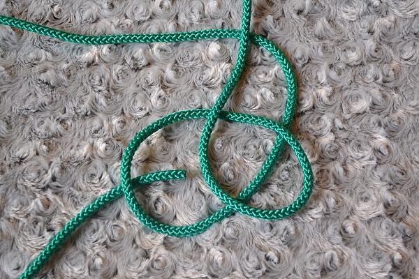 Náhrdelník z lana alebo šnúry II. 6