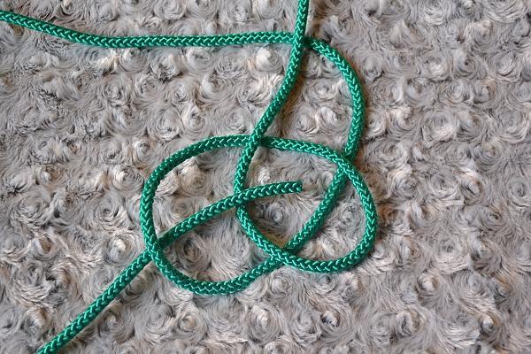 Náhrdelník z lana alebo šnúry II. 7