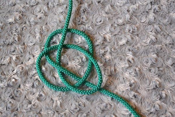 Náhrdelník z lana alebo šnúry II. 9