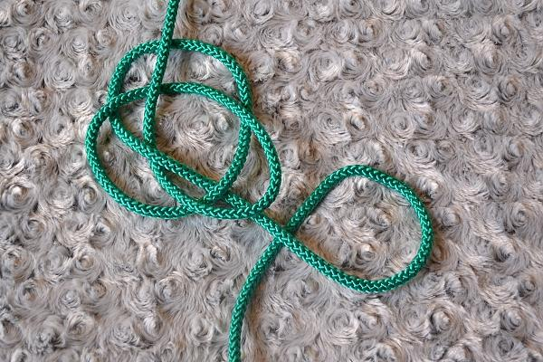 Náhrdelník z lana alebo šnúry II. 10